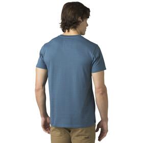 Prana Rex Crew Shirt Korte Mouwen Slim Heren, nickel